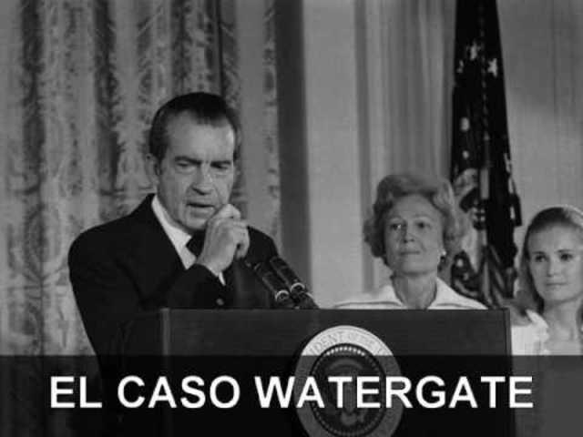 El escándalo de Watergate