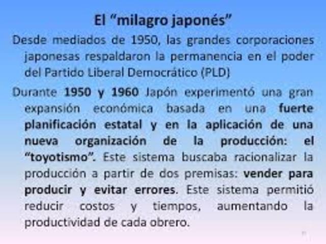 El milagro japonés