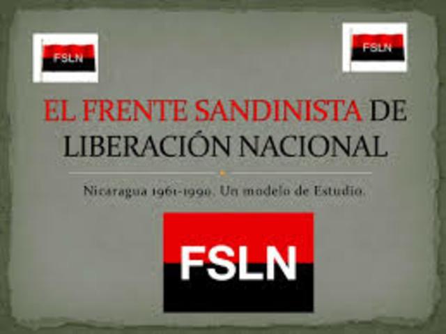 La guerrilla del frente Sandinista