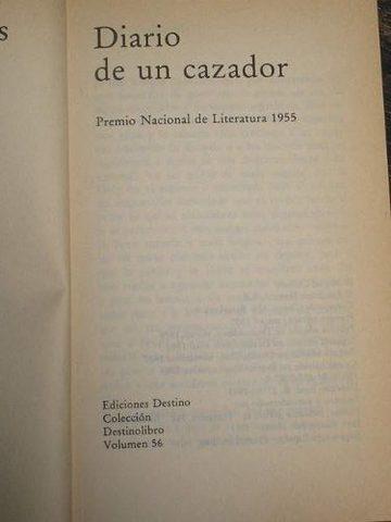 Diario de un cazador.