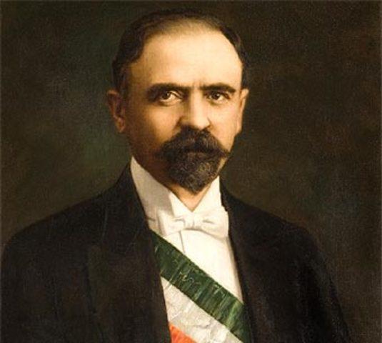 Francisco I. Madero asume la presidencia.