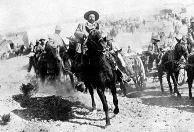 Frentes opositores a Huerta.
