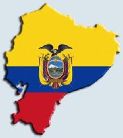 Se separa Ecuador de la Gran Colombia