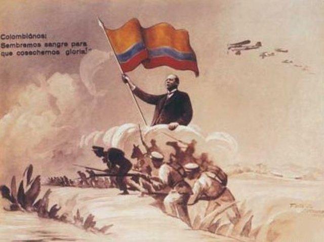 Inicia guerra Colombia - Perú