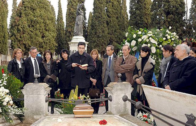 Muerte de Miguel Delibes.