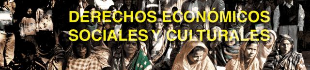 Pacto internacional de derechos economicos, sociales y culturales.