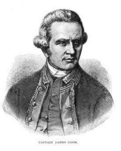 22.7.1770- Lieutenant James Cook claimed Australia