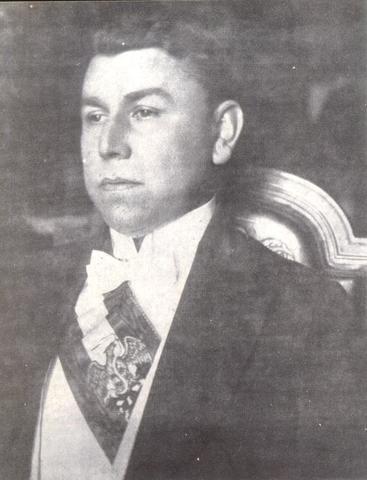 Presidente provisional Adolfo de la Huerta