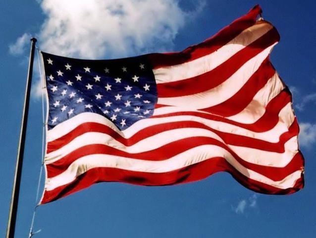 A los Estados Unidos!