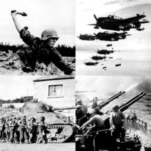Beginn des 2. Weltkrieges