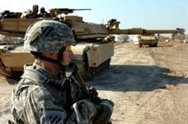 Guerra de Irak, desencadenada por Estados Unidos