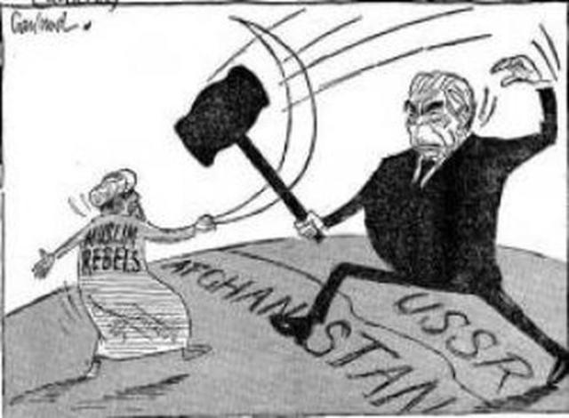 USSR invades Afghanistan