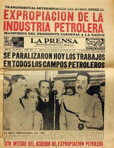 Expropiación de la Industria Petrolera
