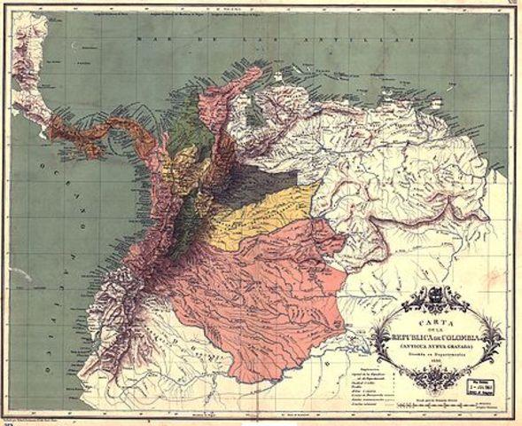 Conformacion de la Republica de Colombia