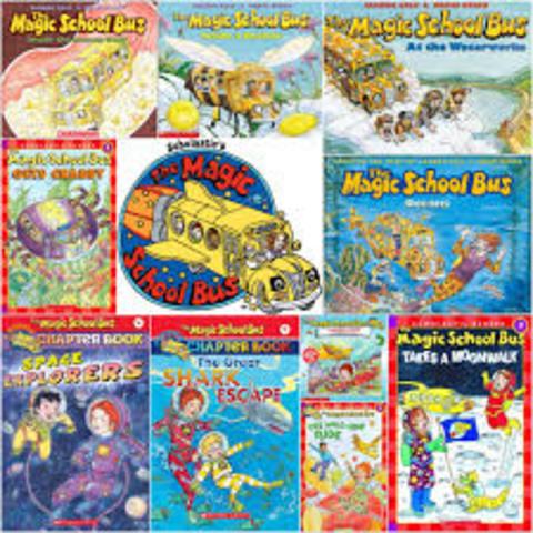 The Magic School Bus series: Joanna Cole