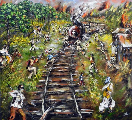 Projeto da ferrovia
