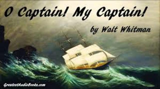 O Captain My Captain!