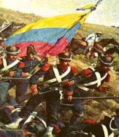 Batalla de Carabobo libera a Venezuela.
