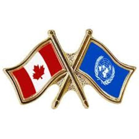 Canada's role in United Nations