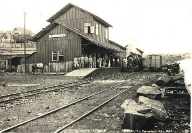 Inauguração da Estação de Rio Caçador