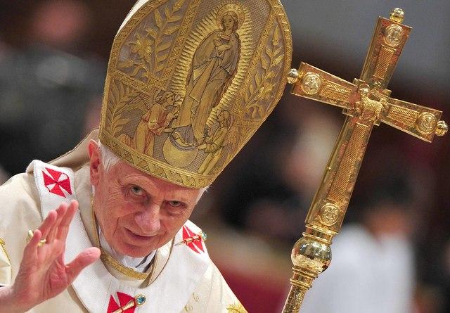 Adiós papa Benedicto XVI
