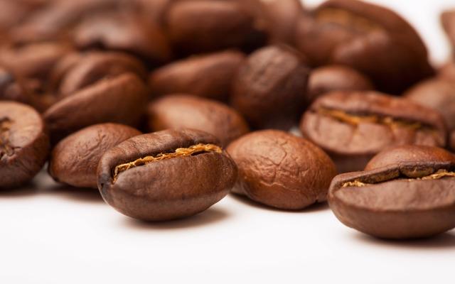 Grano de cafeé sin cafeína