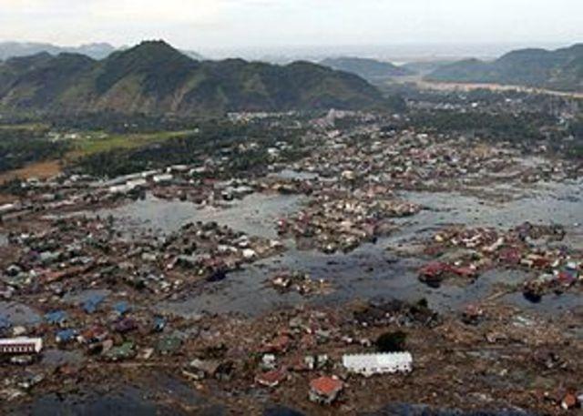 Terremoto y Tsunami en el Indico