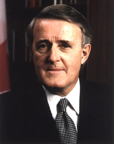 Brian Mulroney PM 1984-1993