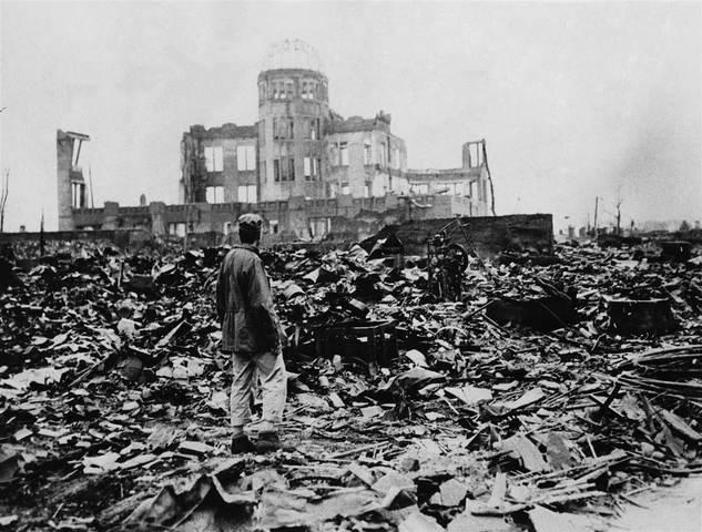 Atomic Bomb on Nagasaki.