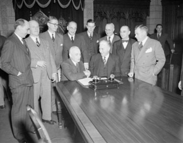 Newfoundland Joins Confederation 1949