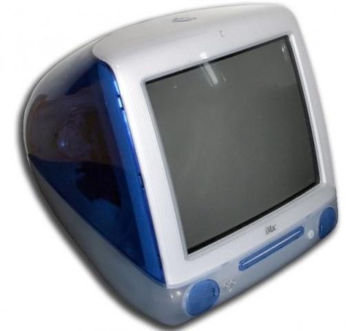 iMac G3. AIO (todo en uno)