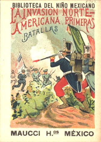 La guerra entre los Estados Unidos y México.