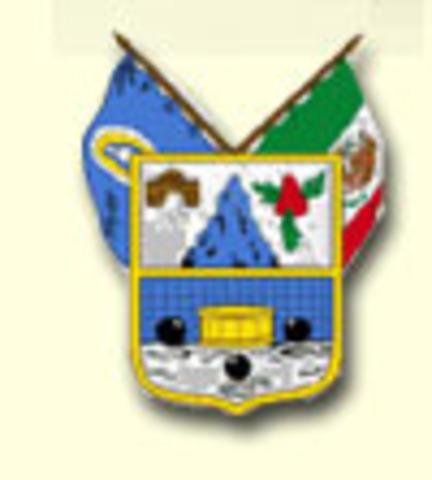 Creación del estado de Hidalgo.