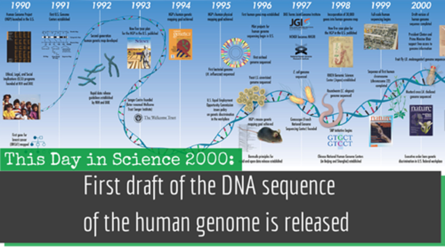 First draft of the human genome released