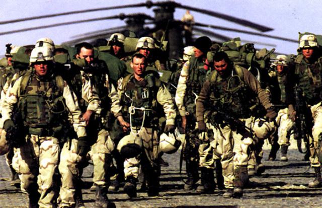 Operation Anaconda begins in eastern Afghanistan.