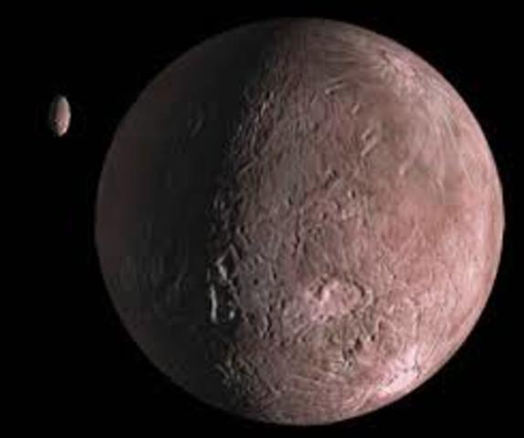 The Dwarf Planet Quaoar Discovered