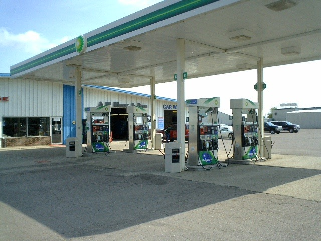 Stadium Sports Grill to Kimball Clark gas station