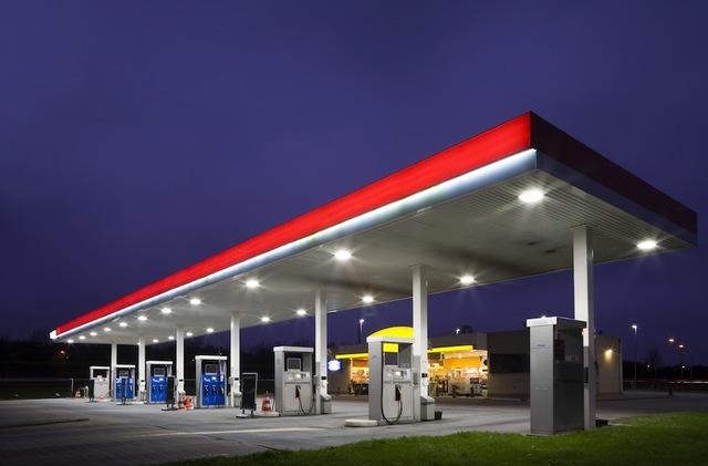 Cabin to Conoco Gas station