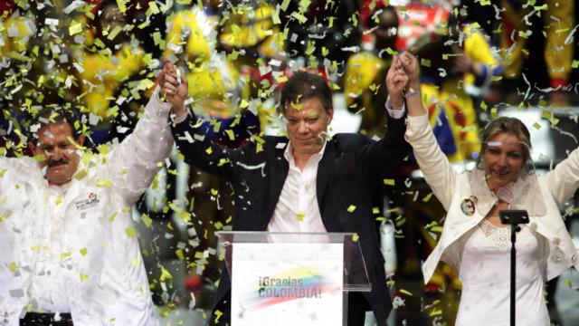 Posesion del Presidente Juan Manuel Santos