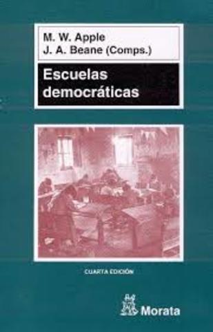 """Apple pubica su libro: """"Escuelas Democráticas"""""""