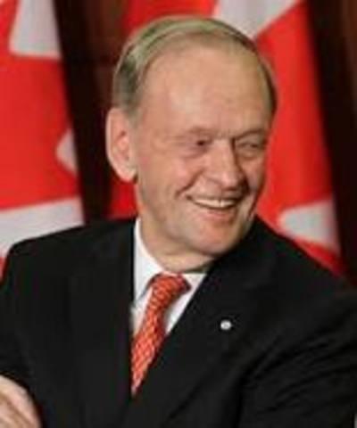 En Canadá Jean Chretién es reelegido primer ministro y el partido liberal aumenta su mayoría en la Cámara de los Comunes.