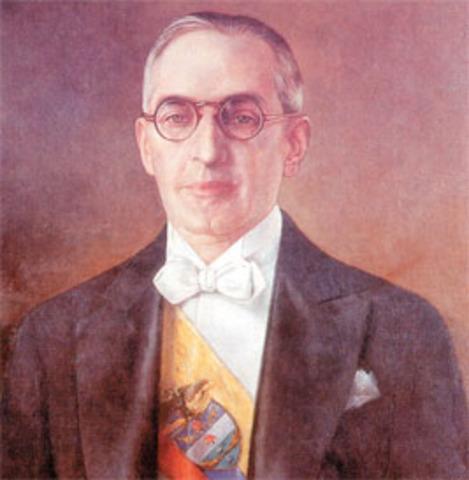 Alfonso Lopez Pumarejo Presidente