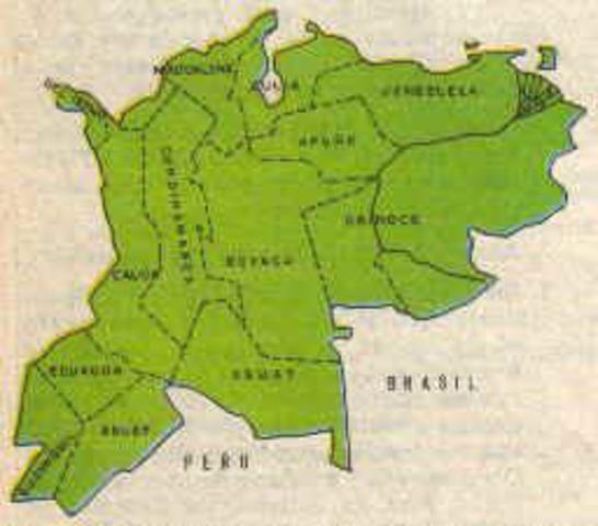 Nace la Gran Colombia