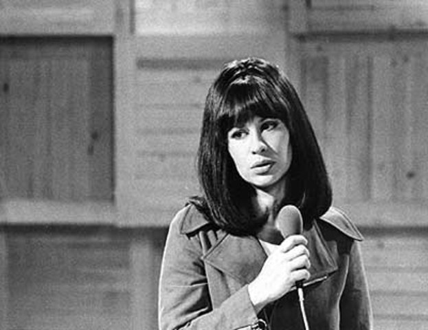 The Girl from Ipanema becomes world famous by the voice of Astrud Gilberto