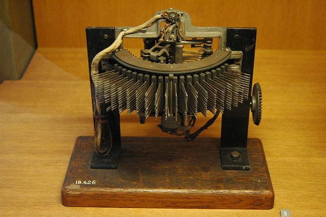 Concesión patente del conmutador automatico Strowger