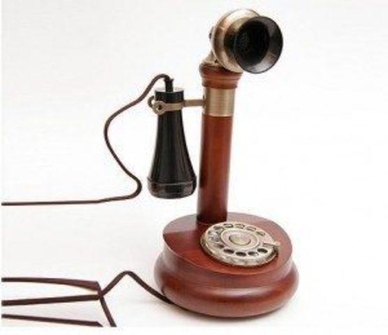 Primer telefono de disco de Ericsson