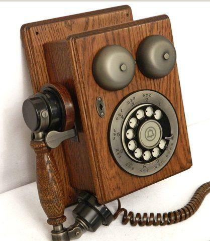 Teléfono de disco Western Electric