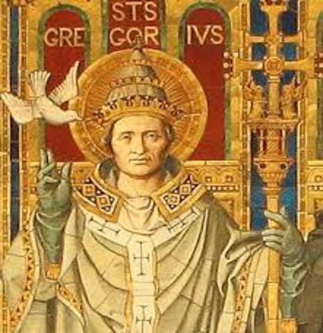 Inicio del Pontificado de San Gregorio VII