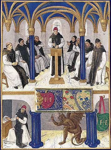 San bernardo funda el monasterio de claraval