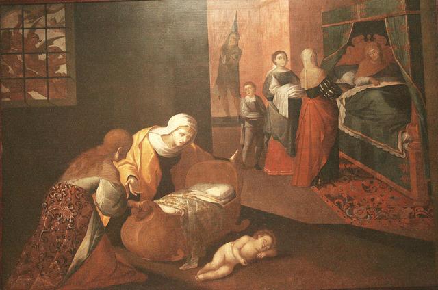 Nacimiento de Santo Domingo de Guzmán